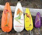 Mermaid fishing lures