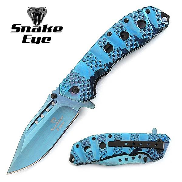snake eye 440 stainless steel knife