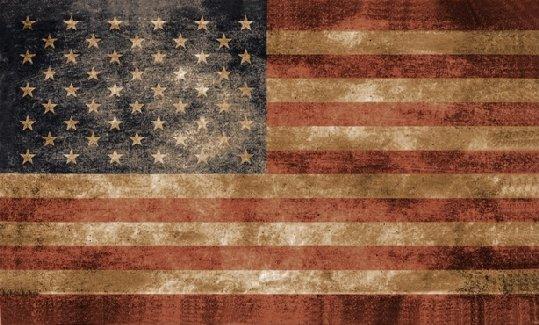 3 X5 Antique American Flag