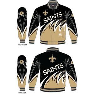 Slash Jacket NFL New Orleans Saints