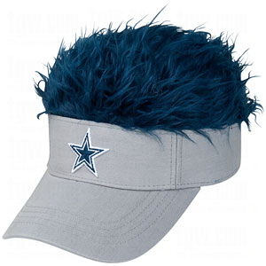 2fa2970c16996 Flair Hair Visor Hat Cap Adjustable - NFL Dallas Cowboys