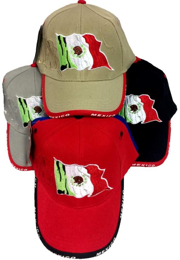 8cdd507018e87 Wholesale Baseball Hats Caps Mexican Flag Mexico Hats