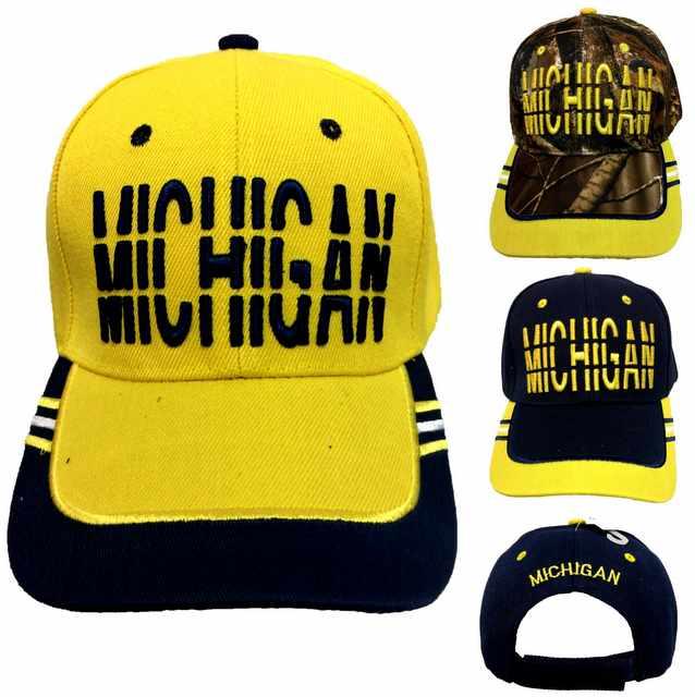 6d95d5635 Wholesale MICHIGAN Baseball Cap