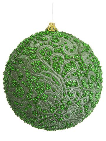 4 beaded lace ball ornament bulk - Christmas Ball Ornaments Bulk