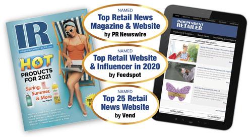 Independent Retailer PR Newswire best-of list
