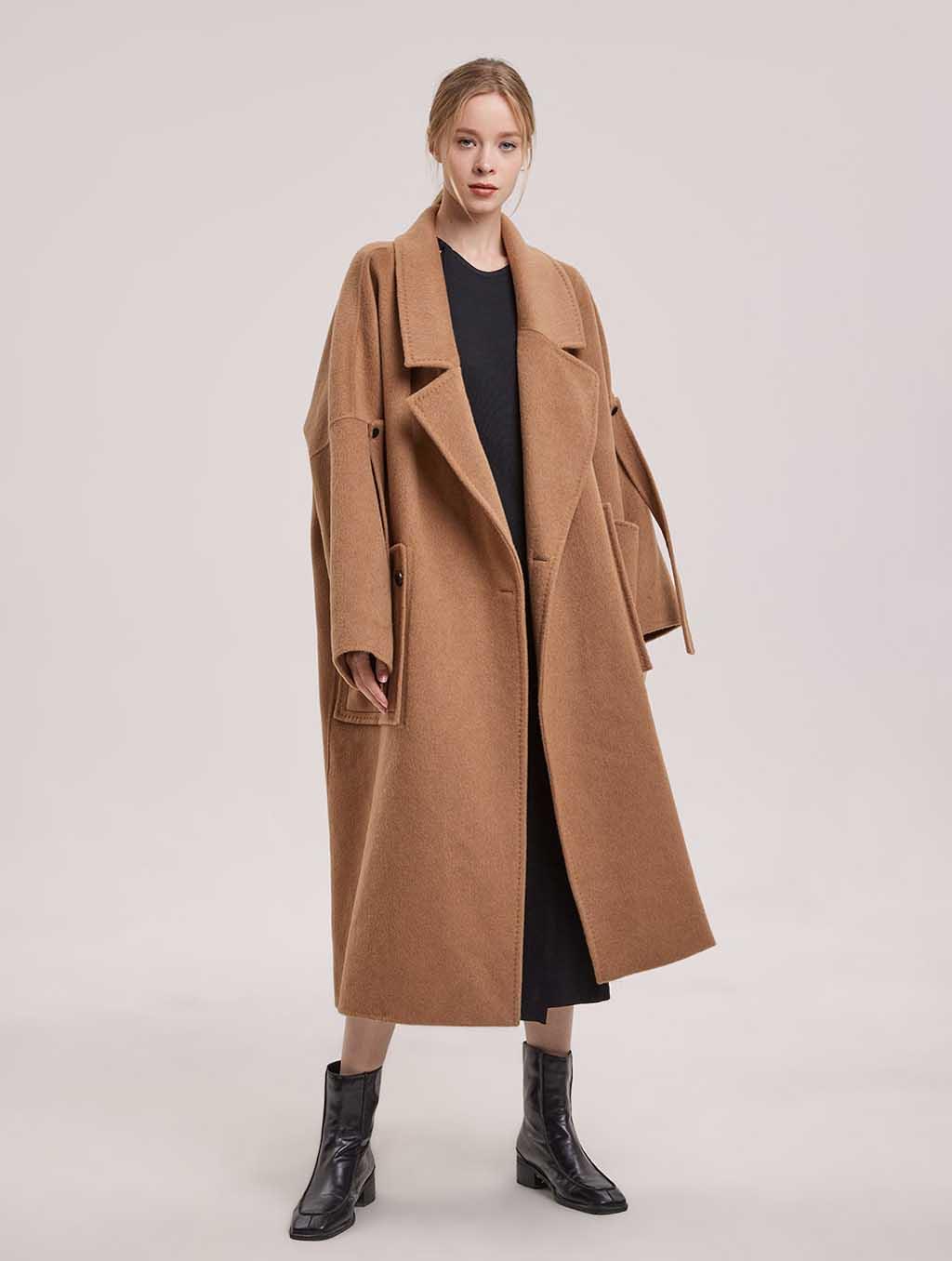 Londyn Shawl Collar Coat