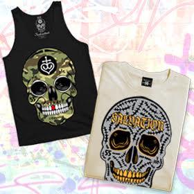 Camo Skull Tank & Cheevers