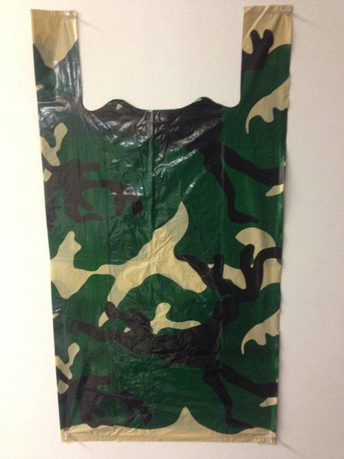 Woodland Camo T-Shirt Bags