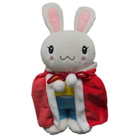 Snowy Bunny rabbit Stuffed Animal