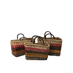 Hand-crafted Seagrass baskets