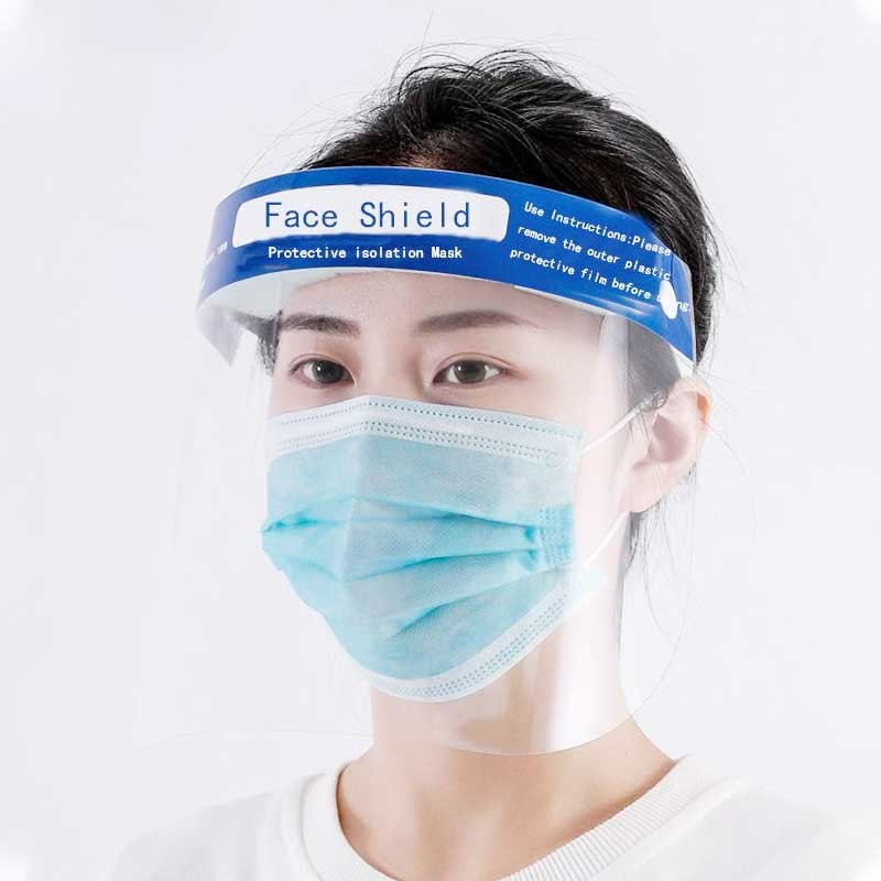 10 Pack Protective Face Shields