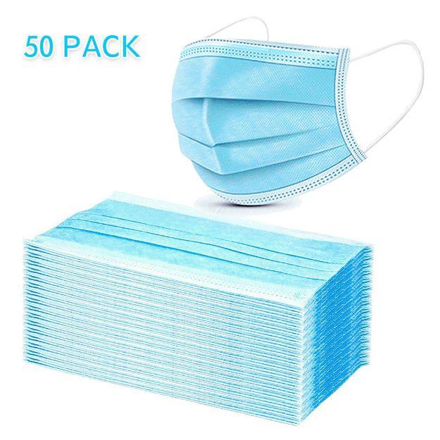 3-Layer Filter Disposable Face Mas