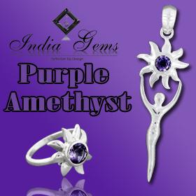 Amethyst Silver Jewelry