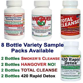 8 Bottle Sample Packs
