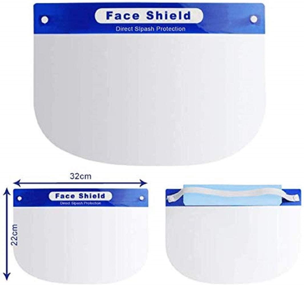 Face Shield W/ Padding. AntiSplash
