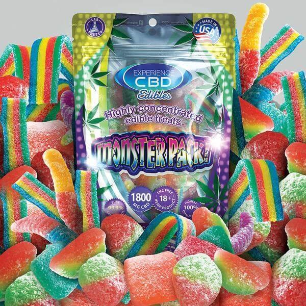 1800mg Assorted Gummies