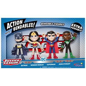 Justice League Action Bendables!
