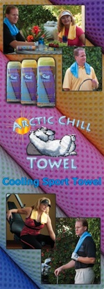 ARCTIC CHILL TOWELS