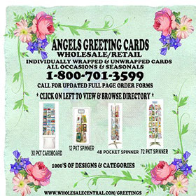 Angels greeting cards wholesale25 cents up wholesale central multi greeting card lines free ship more m4hsunfo