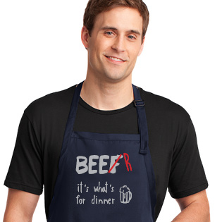 Beer it's what's for dinner Apron