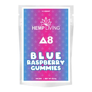 Delta 8 Blue Raspberry Gummies