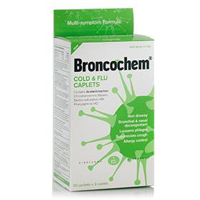 Broncochem Cold&Flu Caplets 50x2