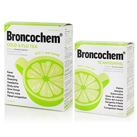 Broncochem Cold&Flu Tea 6/25 Packs