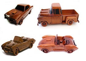 Amazing Handcrafted Wood Cars!