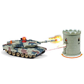 Combat Fight M1A2 RC Infrared Battle Tank