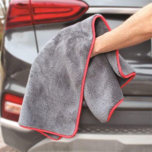 Single Layer Coral Fleece Towel