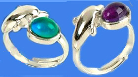 Dolphin Mood Rings