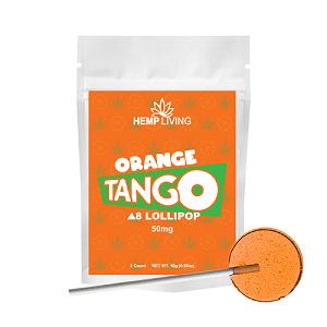 Delta 8 Lollipop - Orange Tango