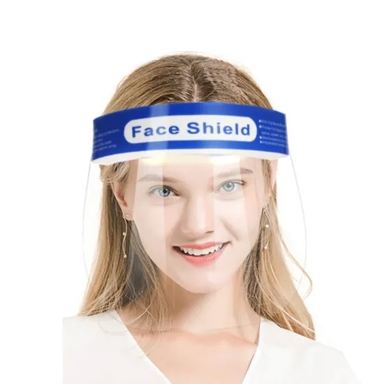 100 Pack Protective Face Shields