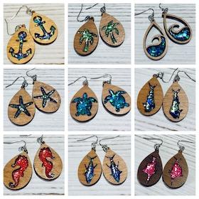 Sea and Coastal Themed earrings