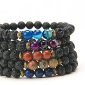 Seraphina Lava Stone Bracelet