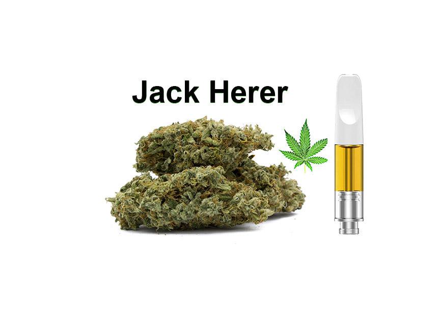 Jack Herer CBD Vape Cart
