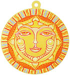 Color Sticker: LS Golden Sun