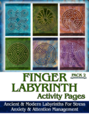Finger Labyrinth Activity Pages #1