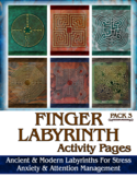 Finger Labyrinth Activity Pages #3