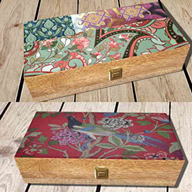 Mix Wood Boxes Decorative