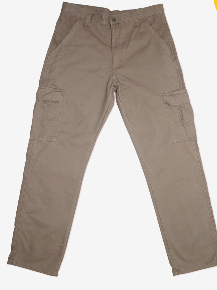 MEN'S TWILL CARGO PANTS