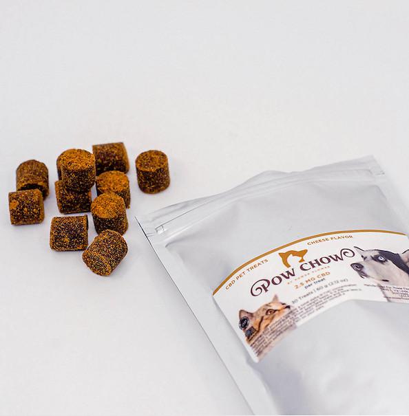 Pow Chow CBD Pet treats