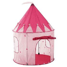 Princess Tent Kids Pink Play Dome Girls Hut Fairy House