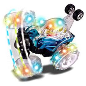 RC Rolling Stunt Car Turbo Twister Spin Truck