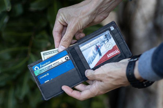 RFID  Signal blocking theft wallet