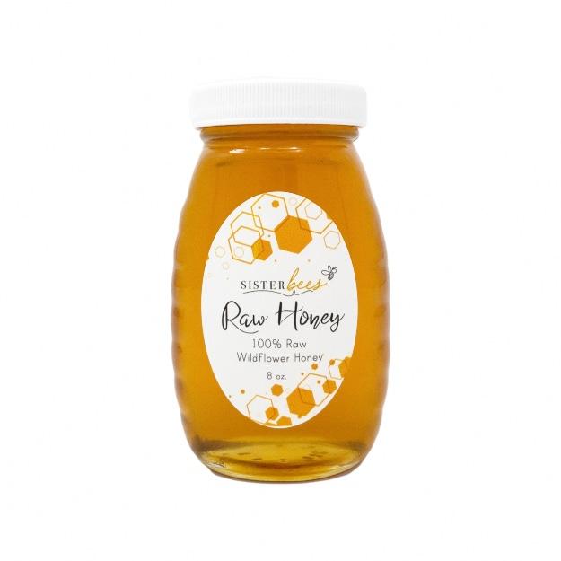 Raw Wildflower Honey-6oz jar