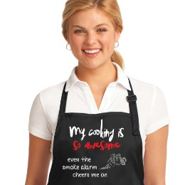 My cooking is so awesome Apron