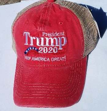 KMA Truckers Hat Trump Collection