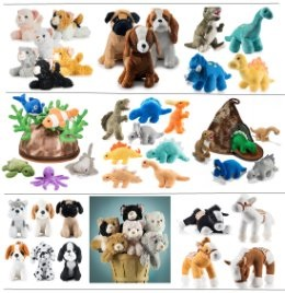 25 Different Styles Stuffed Animal