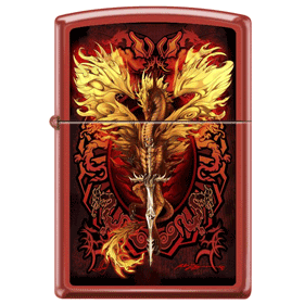 Flameblade Red Matte Zippo